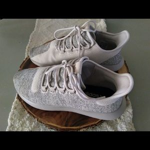 Adidas tubular shadow knit clear brown/light brown
